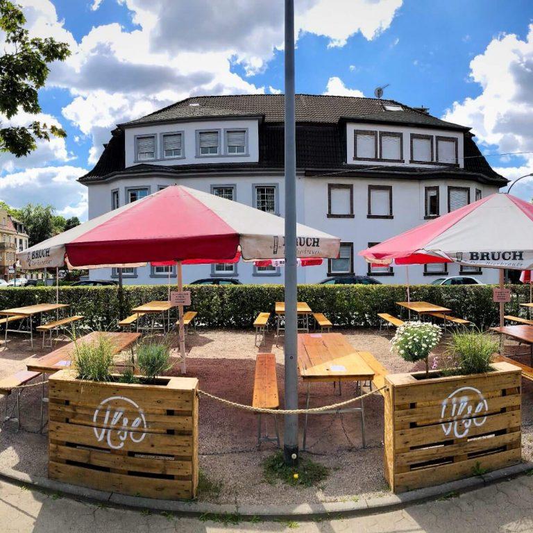 Biergarten des Gasthauses Ilse am Ilseplatz
