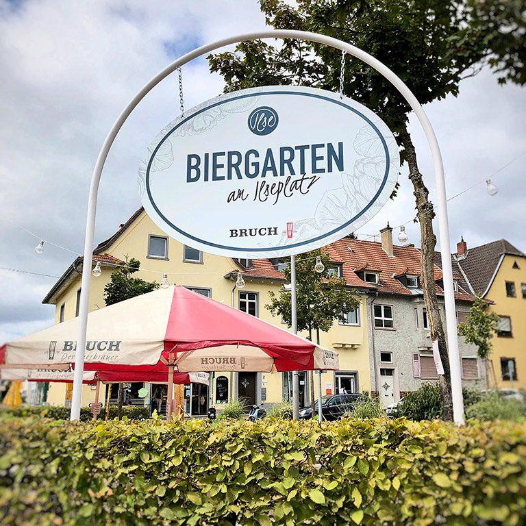 Biergarten am Ilseplatz in Saarbrücken